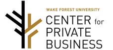 Wake Forest University Center For Private Business Logo