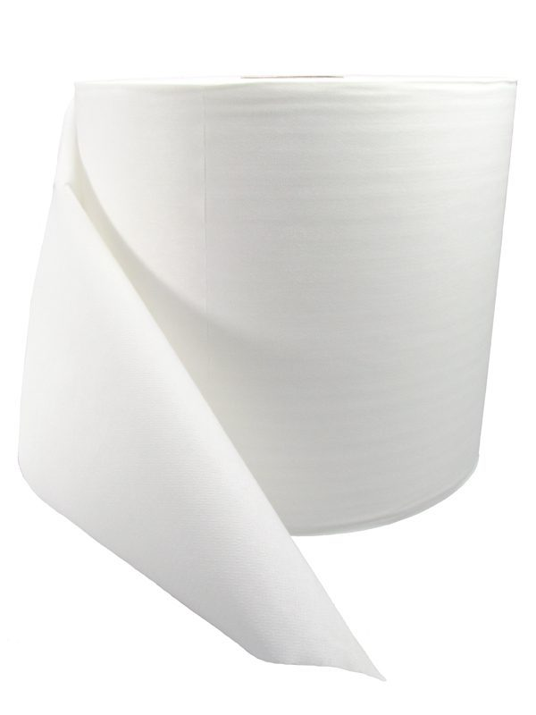 White Hand Towel Roll By NWA
