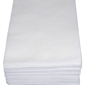 White Spunlace Washcloth Made By NWA