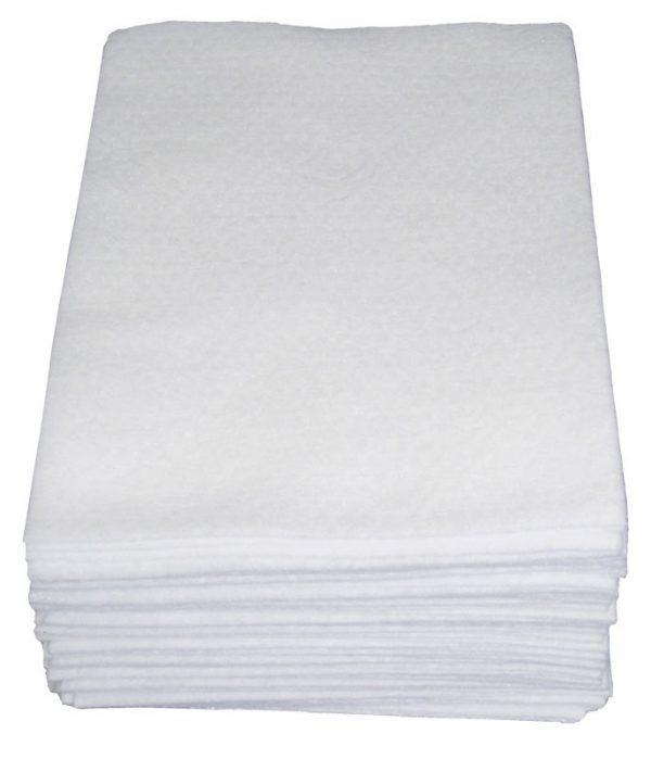 White Spunlace Washcloth Made By NWA